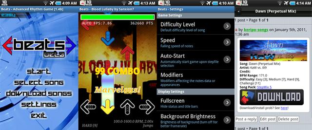 Beats 1.4b Screens